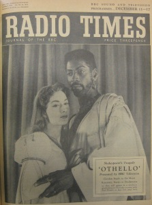 1955 BBC Othello (RT cover)