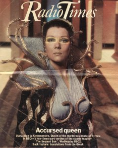 The Radio Times cover for The Serpent Son, 1979